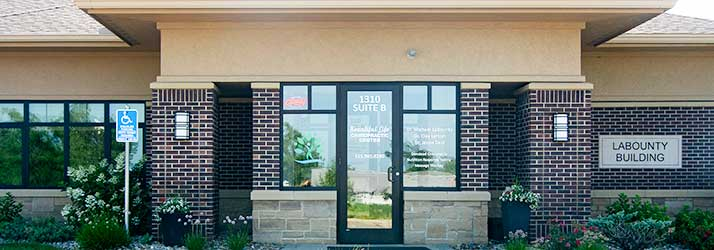 Chiropractic Ankeny IA Office Front