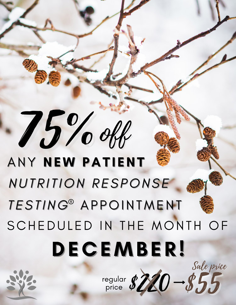 Nutrition Response Testing Special Offer at Bountiful Life Chiropractic Center
