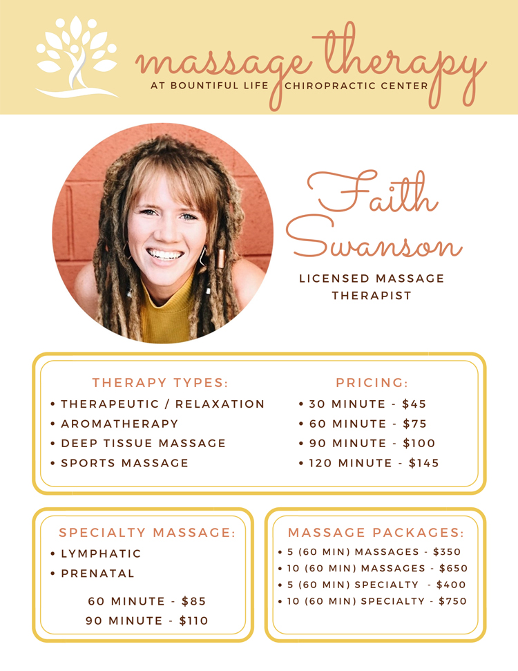 Massage Therapy in Ankeny IA
